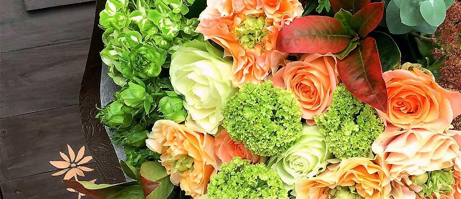 お花の好きな奥さまのお誕生日に…メールより御依頼