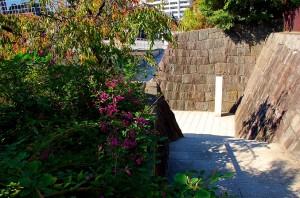 萩と有岡城跡