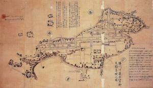 有岡城とその近辺(伊丹郷) 文禄年間